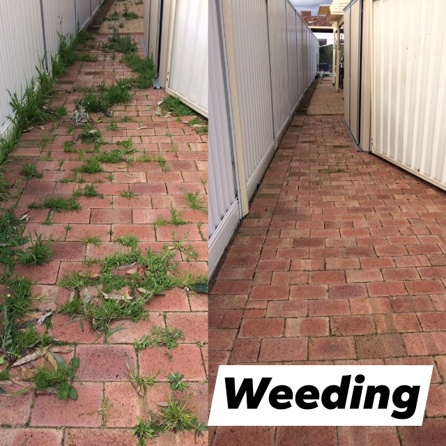 Weeding services Perth